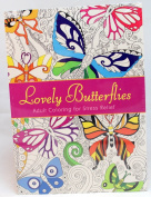 Oceanis Adult and Teen Colouring Book Lovely Butterflies Butterfly Insect Theme