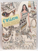 Oceanis Adult and Teen Colouring Book High Fashion Clothing Theme