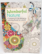 Oceanis Adult and Teen Colouring Book Beautiful Nature Patterns Theme