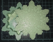 Large Snowflake Trinket Box Plastic Mould, Resin Mould, trinket box mould, snowflake mould, winter box mould, box mould, trinket mould, jewellery box mould
