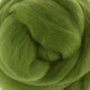 Merino Wool Tussah Silk Tops One Ounce for Felting, Spinning