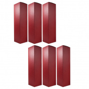 Wine and Liquor Red Gift Box - 6 pack - 34cm tall for standard size wine bottle