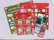 Set of 4 Christmas Tags- 112 Total- Includes Stickers and Photo Gift Tags