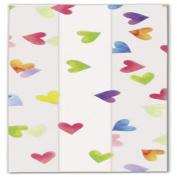 Rainbow Hearts Cello Bags, 5 x 7.6cm x 29cm