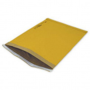 Yellow Jiffy Self-Seal Padded Mailers, 22cm x 37cm