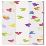 Rainbow Hearts Cello Bags, 4 x 6.4cm x 24cm