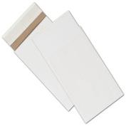 White Unprinted Eco-Mailers, 15cm x 25cm