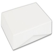 Gloss White Pop-Up Boxes, 4 5/8 x 3 3/8 x 5/8