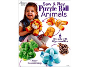 Annies Sew & Play Puzzle Ball Animals Bk