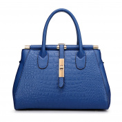Myleas Women's Fake Crocodile Handbag Leisure Shoulder Bag Crossbody Bag Satchel