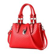 Myleas Women's PU Leather Tote Shoulder Bag Handbag Crossbody Bags
