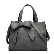 May Lucky Womens Fashion Bow-knot Handbag Shoulder Bag