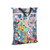 Nicole Area Reusable Large Hanging Wet And Dry Cloth Nappies Bag for Nappies or Laundry Multipurpose Storage Organiser Bag
