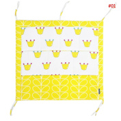 PYD Multilayer Baby Bed Hanging Storage Bags Fashion Crib Toys Organiser Cloth Container Nappy Pocket Nursing Bottle Tissue Socks