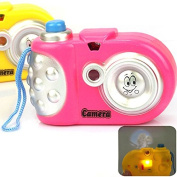 Puraid(TM) New Creative Toy Camera Baby Study Toy Kids Projection Camera Educational Toys for Children FCI#