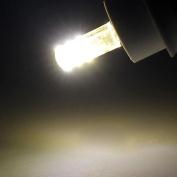 Tuscom 5PC G4 24 Leds 3014 Chip Silicon Lamp 3W 360 Degree Non-polar