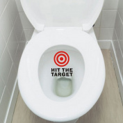 Hit the Target, SIO Bathroom Decal Toilet Potty Seat Boys Training Target