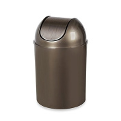 Umbra Flip Champ 9.5l Wastebasket in Champagne