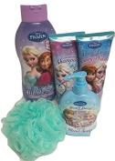 Disney Frozen Children's Bath & Body Gift Set 5pcs Bubble Bath, Shampoo, Body wash, Hand Soap and Bath sponge Competing Marketplace Offers