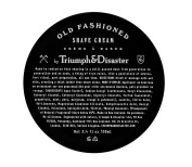 Triumph and Disaster Old-Fashioned Shave Cream 100ml