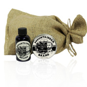 Pre-Shave Oil & Post -Shave Balm Combo by Mountaineer Brand