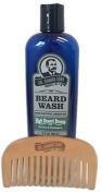 Colonel Conk Natural Beard Wash + Beard Comb