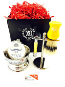 MENS SHAVING SET HIGH QUALITY GROOMING SHAVE KIT HEADSHAVE RAZOR FOR ALL SKIN TYPE