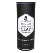 Mel bros Co Black & White Clay For Hair & Face