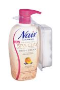 Nair Brazilian Spa Clay Body Creme Hair Remover