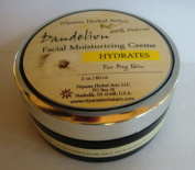 Dandelion Facial Moisturiser, All Natural, Vegan, Organic, For Dry Skin