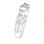 Philips Norelco Arcitec 1060X Basic Body Replacement Part