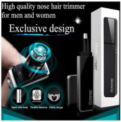 Pritech TN-188 Blade Washable LED Light Nose Ear Hair Trimmer by GokuStore