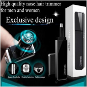Pritech TN-188 Blade Washable LED Light Nose Ear Hair Trimmer 2 Colours to Choose by GokuStore
