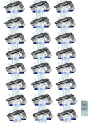 Schick Hydro3 Refill Blade Cartridges, 24 Count (6 Packs of 4) (Unboxed) w/ Free Loving Care Conditioner Packette