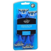 Studio 35 Speed 3-Blade Disposable Razor 4 ea