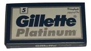 25 GILLÈTTE Platinum Double Edge Razor Blades Made in Russia