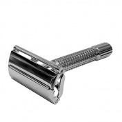 Chrome Lucido 80mm Butterfly Razor razor by Timor