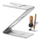 Dovo Brush And Straight Razor Stand, Stainless Steel