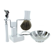 Mach-3 Shaving Gift Set White - Modern Man
