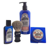 Colonel Conk Model 4021 Santa Fe Cedar 4pc Shave Kit with Soap