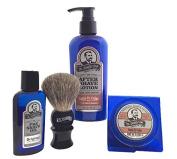 Colonel Conk Model 4021 Santa Fe Cedar 4pc Shave Kit with Soap