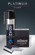 Adam Platinum Club Gift Set, 50ml After Shave + 200ml Shaving Gel