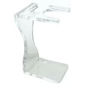Hans Baier Acrylic Shaving Brush and Razor Stand