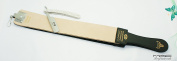 Professional Quality Sharpening Strop Made of Real Leather 7.6cm Wide and 60cm Long With Straight Razors Mac Brand-516