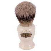 Simpsons Commodore X1 Best Badger Hair Shaving Brush Small - Imitation Ivory by Simpson