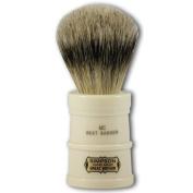 Simpsons Milk Churn Best Badger Hair Shaving Brush in Imitation Ivory by Simpsons