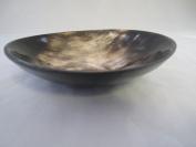 Thiers-Issard Genuine Horn Shaving Bowl, Dark Horn, 120mm x 30mm