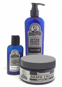 Colonel Conk Model 4034 Unscented 3pc Shave Kit
