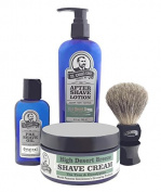 Colonel Conk Model 4013 High Desert Breeze 4pc Shave Kit with Brush