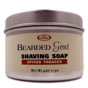 Bearded Gent - Spiced Tobacco Shaving Soap 120ml with Kaolin Clay   Bentonite Clay